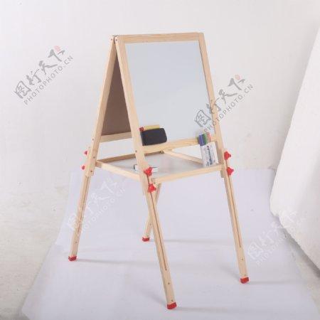 支架式儿童画画板磁性小黑板10