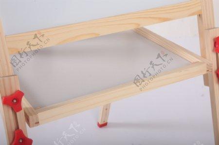 支架式儿童画画板磁性小黑板1