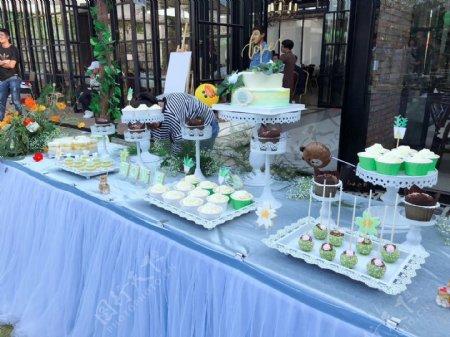 婚礼甜品台