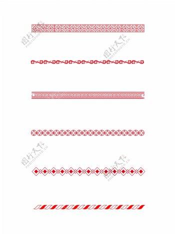 中式古典纹理边框