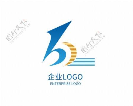 原创科技公司企业蓝色logo标志设计