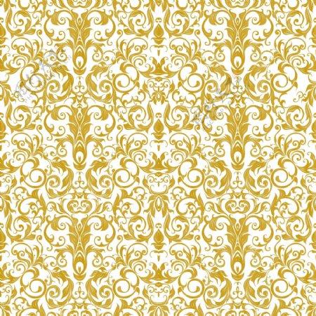 手绘经典欧式风格矢量花纹底纹纹理装饰元素