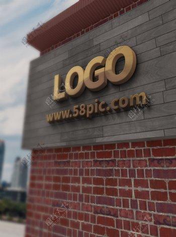 原创模型招牌样机logo