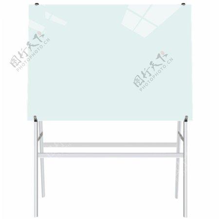玻璃白板支架式白板支架式玻
