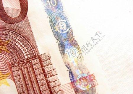 欧元钞票安全功能