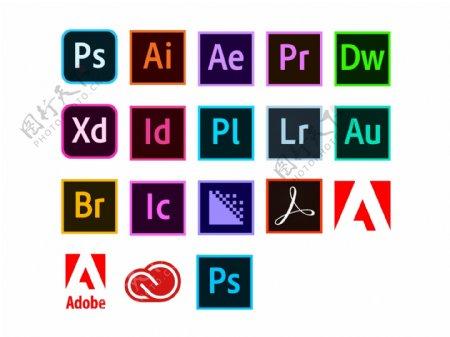 Adobe彩色图标