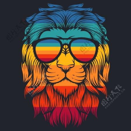 狮子创意头像