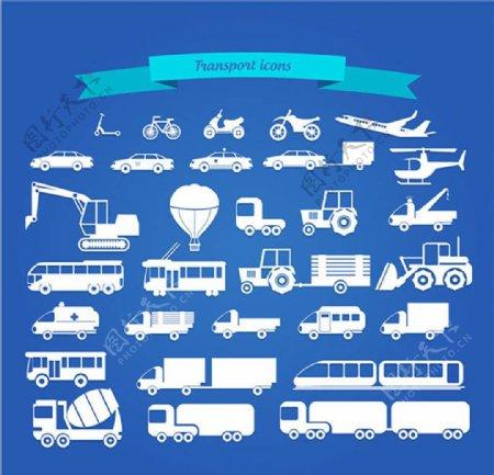 矢量汽车交通工具