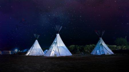 帐篷户外住宿露营