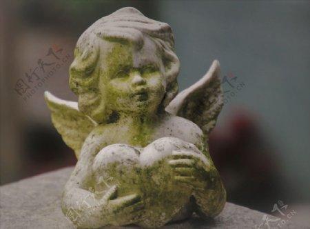 小天使雕像塑像