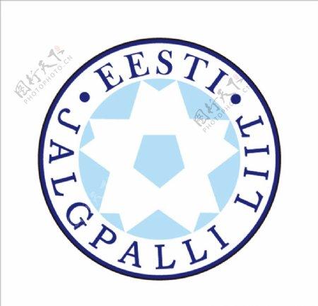 爱沙尼亚足球队队徽logo