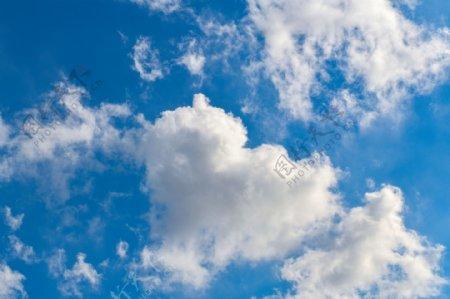 天空晴天蓝天白云云朵