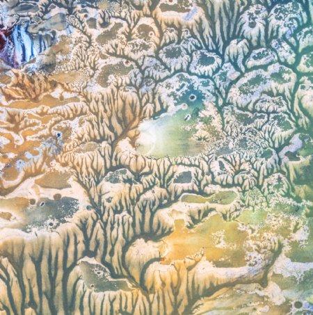 水墨抽象画艺术