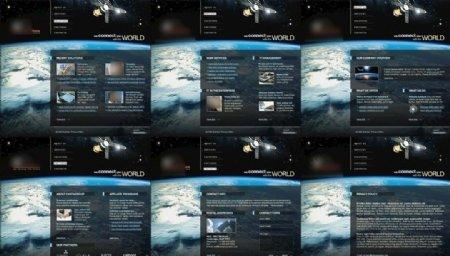 IT通讯设备外网网站模板