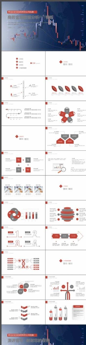 商务金融数据分析总结计划PPT