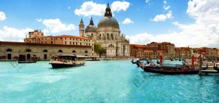 欧式建筑威尼斯小镇