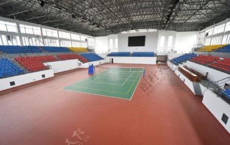 室内排球场图片