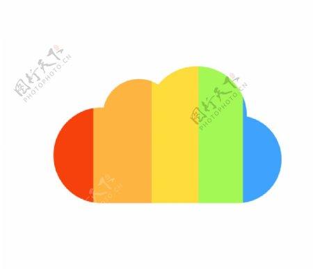 蓝奏云网盘矢量AI格式LOGO图片