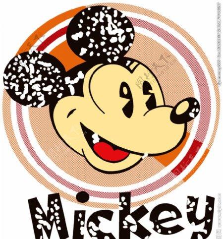 米奇米老鼠网点图片