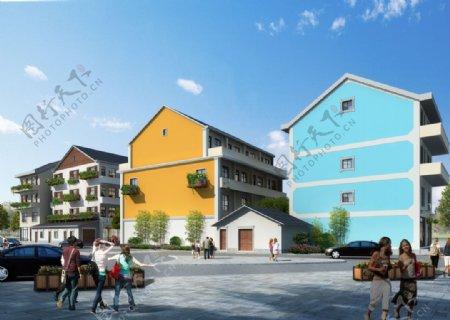 农村改造环境设计图片