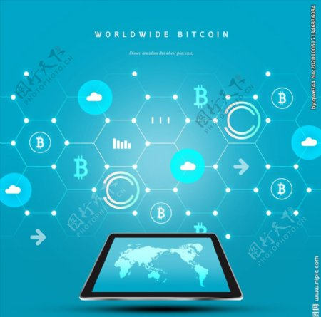 现代科技背景图片