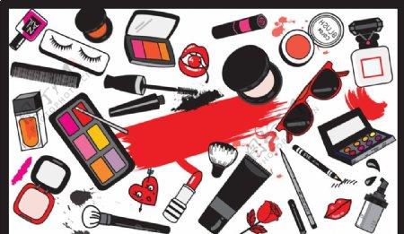 彩妆设计素材图片