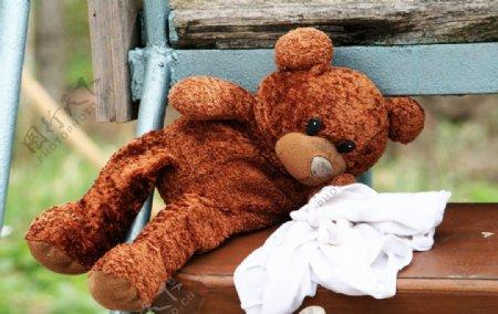 毛茸茸的玩具毛熊图片