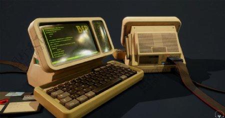 计算机电脑磁盘科技背景图片