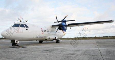 飞机交通工具机场背景图片