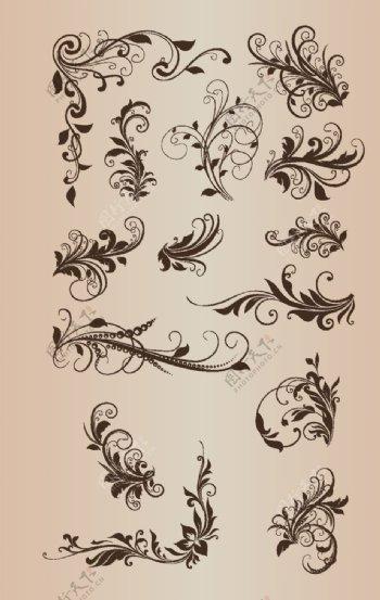 欧式边框欧式花边图片