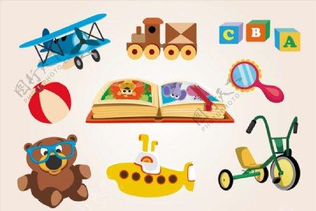 卡通儿童玩具图片