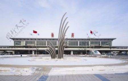 长春机场图片