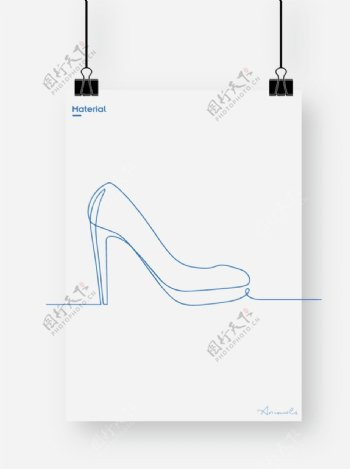 高跟鞋图片