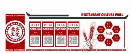 饮食文化墙图片