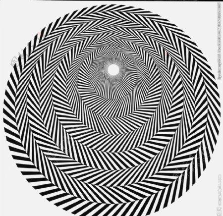 几何拼接抽象绘画图片