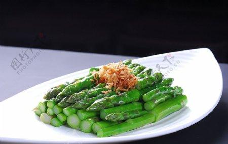 牛油芦笋图片