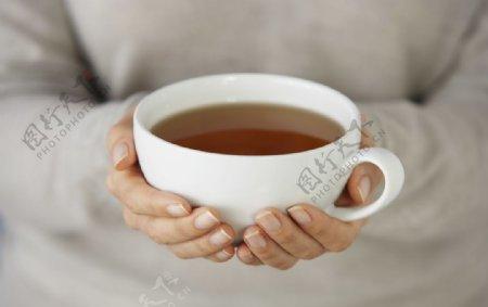 红茶饮料饮品背景素材图片