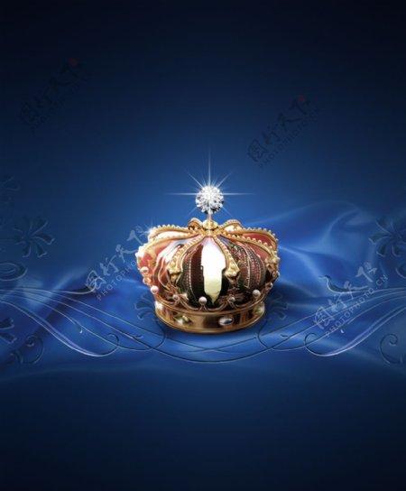 皇冠分层图片