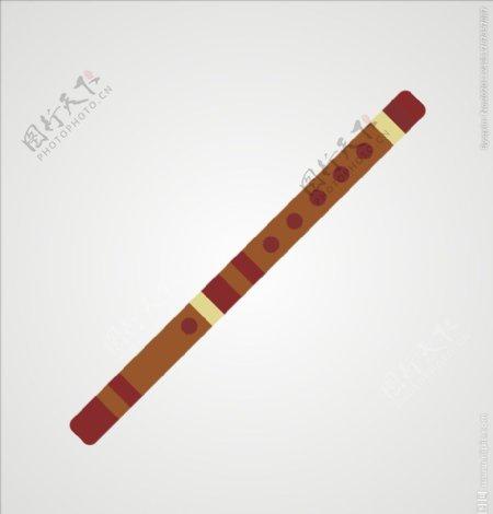 笛子萧乐器图片