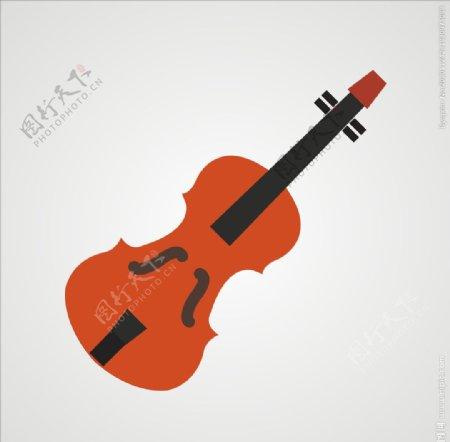 小提琴乐器图片