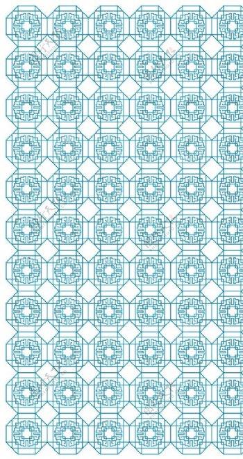 中国传统图案方角折弯图片