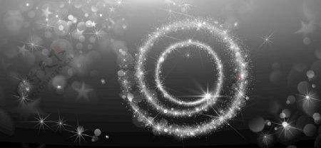 星光素材打开是彩色的图片