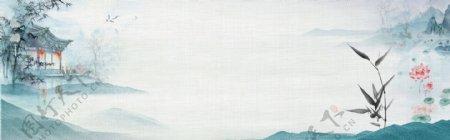 新中式水墨画图片