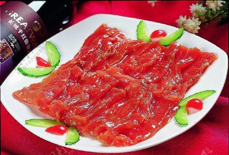 黄瓜条嫩牛肉图片
