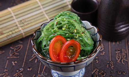 日韩料理中华海藻图片