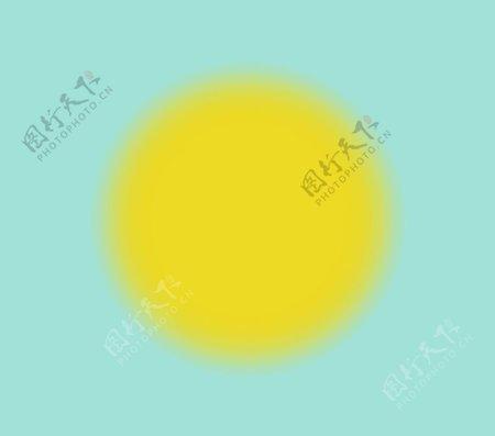太阳黄色图标小图标卡图片