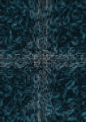 科技感线性海报图片