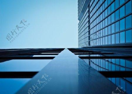 商业蓝色背景图图片