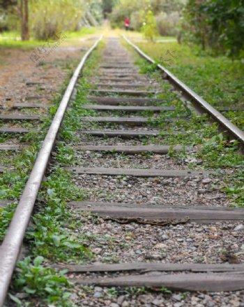 火车轨道非主流图片