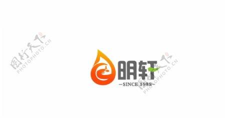 明轩香油logo商标图片